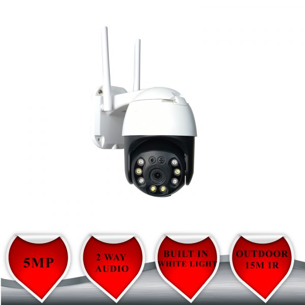 PTZ CAMERA 5MP WIFI OUTDOOR NIGHT VISION